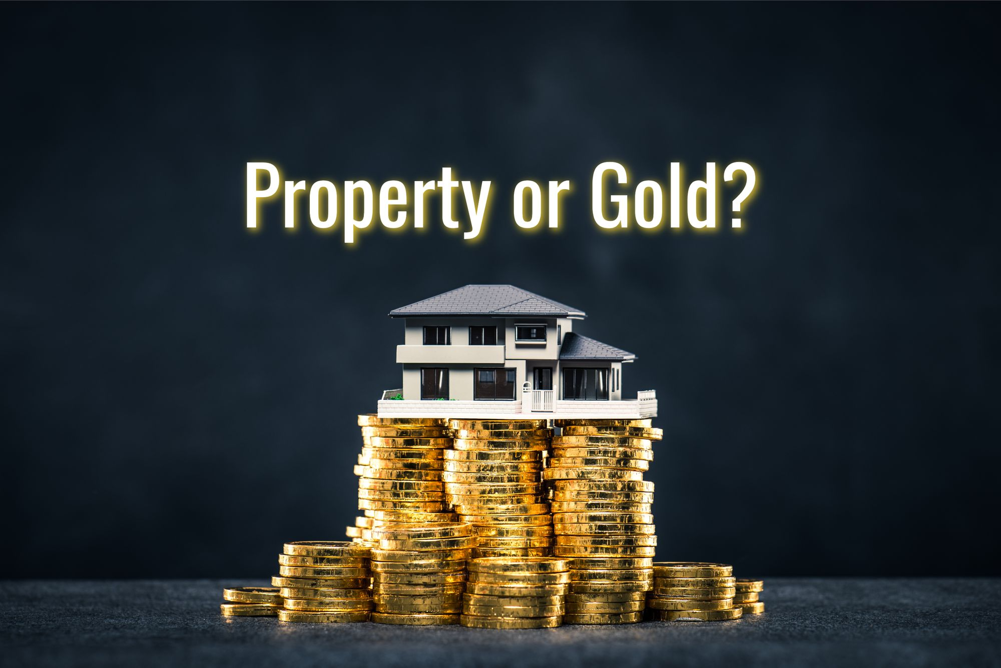 Which Is a Better Investment: Gold or Real Estate?
