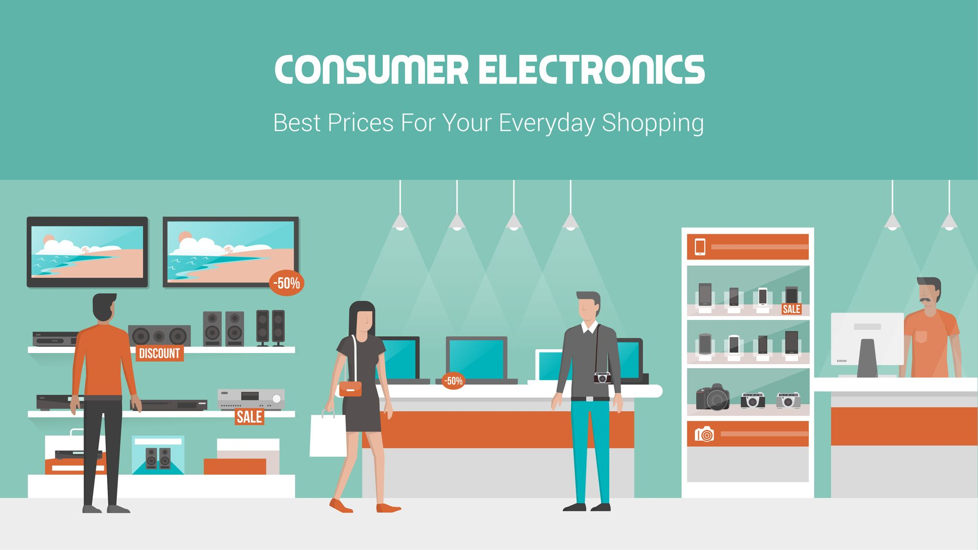 How to start an electronics store?