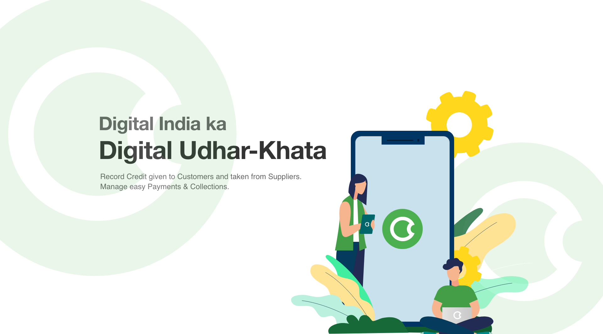 Using OkCredit App for Your Kirana Business