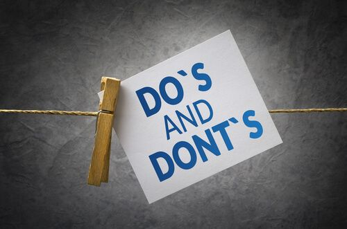 Do's & Don'ts for an Apparel Store Owner