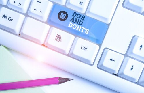 Dos & Don'ts for a Financial Services Providing Business