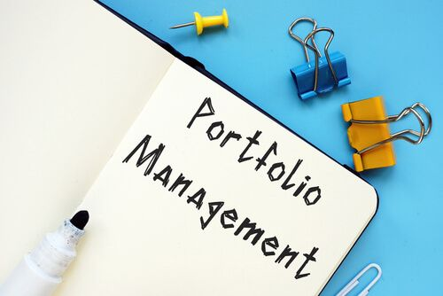Portfolio Management with sign on the sheet