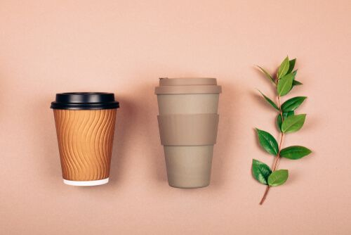 Refillable and disposable cups