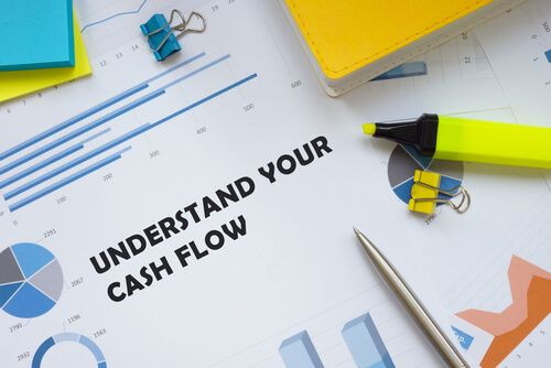 Financial concept about Understand Your Cash Flow with sign on the sheet