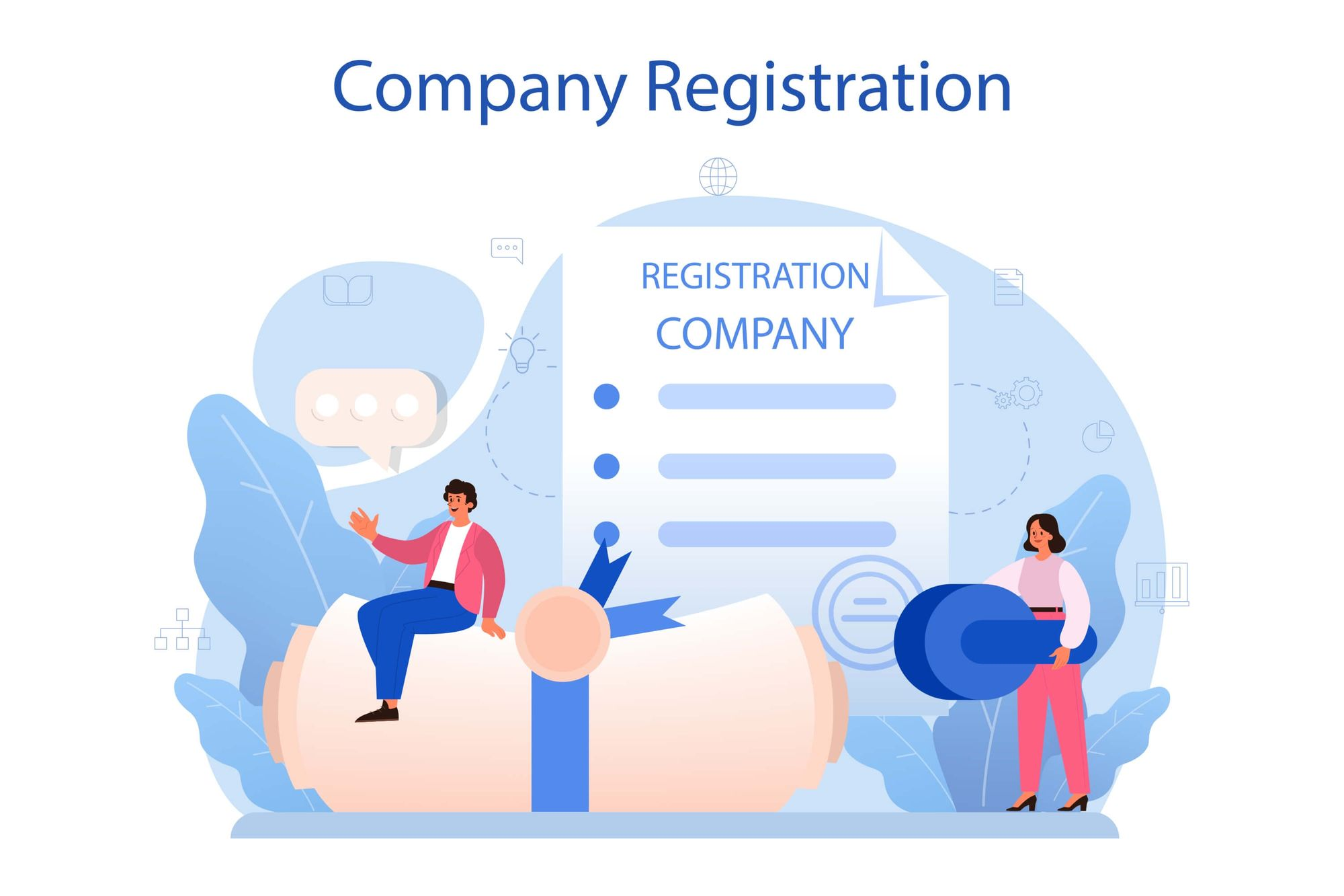 How to find a company registration number online?